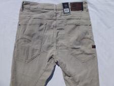 G-star Raw Men`s Jeans Size 36x32 Type C 3D  Super Slim Coj Peach Stretch Dune