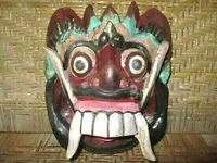 OLD BALINESE TOPENG, DANCERS MASK