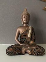 Gold Fabric Effect Thai Buddha 27cm High