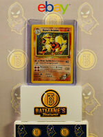Blaine's Arcanine 1/132 LP Lightly Played Gym Challenge Rare Holo Pokemon Card
