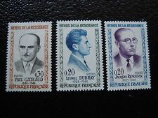 FRANCE - timbre yvert et tellier  n° 1288 a 1290 n** (C5) stamp french