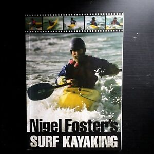 Nigel  Foster's Surf Kayaking Pre owned Like New Condition Paperback Book