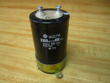 Hitachi HCG F5A Capacitor HCGF5A 3300 MFD/400 VDC-w/Bracket