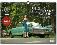 GIRLS & LEGENDARY US-CARS 2020 Wochenkalender von CARLOS KELLA neu 50er Pin Up
