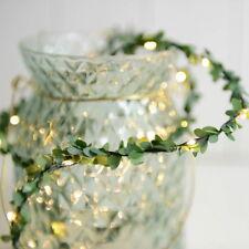 Flower Leaves LED String Lights Battery Powed Lamp Xmas Garden Decor COU