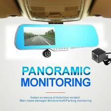 5'' 1080P Car Rearview Mirror DVR Camera Dash Cam Video Recorder Tracking USA