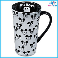 Disney Mickey Mouse Hot Beverage Latte Style Mug brand new