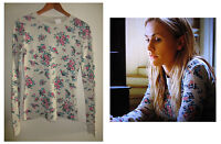 TRUE BLOOD SOOKIE FLORAL THERMAL SHIRT TOP Production Used Wardrobe ANNA PAQUIN