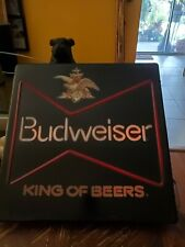RARE VINTAGE Budweiser King of Beers  lighted sign