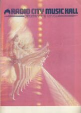 Ginger Rogers and The Rockettes  1980  Program  Radio City Music Hall