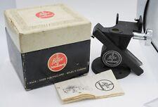 Rare Boxed Mint Paillard Bolex H8 H16 Cine Camera Geared Rack Over Tripod Head