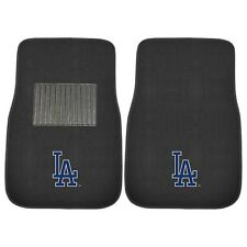 Los Angeles Dodgers 2 Piece Embroidered Car Auto Floor Mats