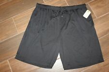 Northcrest Black Gym Sport Lounge Sleep Pajama SHORTS MEN'S Size 2XL (44-46)