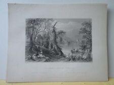 Vintage Print,INNISFALLEN,Scenery of Ireland,Bartlett