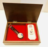 Disney Fossil Beauty and the Beast Watch Club Music Box LE #2100 Series V Fossil