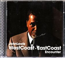 JOHN LEWIS -West Coast- East Coast Encounter CD (Los Angeles/New York 1956)