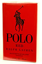 POLO Red by Ralph Lauren  Fragrance  75ml  Eau De Toilette EDT Spray NEW SEALED