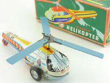 Lemez Hubschrauber Lendület Helikopter Ungarn Hungary Tin Toy OVP 1605-05-18