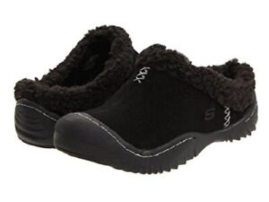 SKECHERS Women's Spartan Snuggly Clogs Slip On Shoes - 5