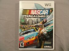 NASCAR Unleashed (Nintendo Wii) Complete W/ Case, Game, & Manual CIB