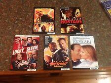 DVD Backer cards MINI  BRUCE WILLIS POSTERS dvd hostage film rare oop