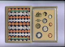 "1991 Royal Australian Mint Proof Set: ""25 Years of Decimal Currency."""