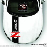 Whole Body Stripes Fits NISSAN 350Z and 370Z  From Hood, Roof Top and Rear