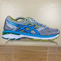 Asics GT-2000 4 Athletic Running Shoes Womens Size 6 Gray / Blue / Green