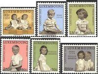 Luxemburg 660-665 (kompl.Ausg.) postfrisch 1962 Caritas