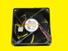 Estuche de PC/CPU Ventilación 80x80mm/3 Enchufe/Y.S tech fd128025lb-n
