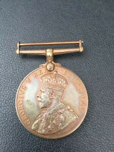 GV Special Constabulary Long Service Medal issued to Thomas Hodgkinson