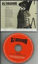 DJ SHADOW This Time RARE RADIO PROMO Dj CD Single 2006