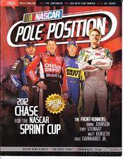 2012 NASCAR Pole Position Stewart Johnson Earnhardt, Jr. Kenseth Bowyer