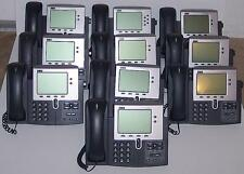 Lot of 10 Cisco CP-7941G 7941 IP Phone SIP ASTERISK 500xAvailable