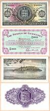 1966 Ten Shillings The States of Guerney in GEM UNC condition + Bonus Note