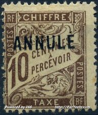 FRANCE TYPE TAXE COURS INSTRUCTION N° 29CI1 NEUF * AVEC CHARNIERE
