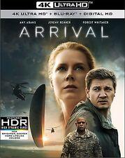 THE ARRIVAL (2016)  (4K ULTRA HD) - Blu Ray -  Region free
