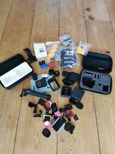 GoPro Hero 9 5K Camera, Media Mod, Max Lens Mod, Light mod + huge bundle mounts