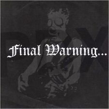 FINAL WARNING - PDX CD