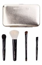 Bobbi Brown Old Hollywood Collection Travel Make Up Brush Set GOLD Case 5 Pc NIB