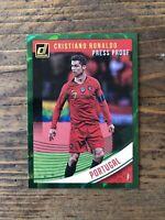 Panini 2018-19 Donruss Soccer Cristiano Ronaldo Green Press Proof Portugal