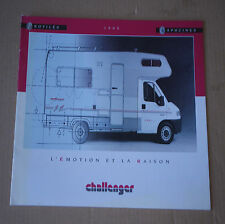 CHALLENGER PROFILES CAPUCINES 1995 ✿ BROCHURE CAMPING-CAR ✿