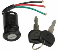 Electric Bike Bicycle Scooters 3-Wire On/Off/On Ignition Switch Lock w 2 Keys