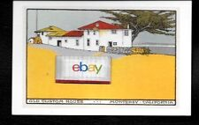 THE CUSTOM HOUSE MONTEREY,CALIFORNIA LITHOGRAPH POSTCARD FOUNDIMAGE