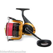 RED POWER LARGE SEA BEACH FISHING REEL FITTED WITH BRAID FIXED LINEAEFFE 5+1 BB