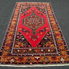 Türkischer Orient Teppich 203 x 116 cm Yörük Rot Alt Red Old Yoruk Carpet Rug