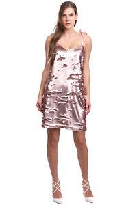 RRP €270 J.CREW Cocktail Dress Size 10 / XL Sequins Grosgrain Self Tie Straps