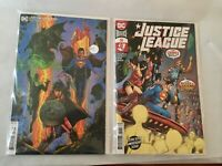 Justice League 50 Two Comic Lot - Cover A & Variant
