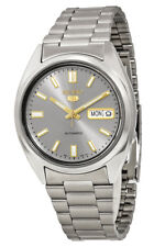 Seiko 5 Automatic SNXS75 SNXS75K1 Men Day Date Stainless Steel Watch