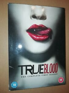 TRUE BLOOD * THE COMPLETE FIRST SERIES * 5 DISC DVD BOXSET 2009 EXCELLENT
